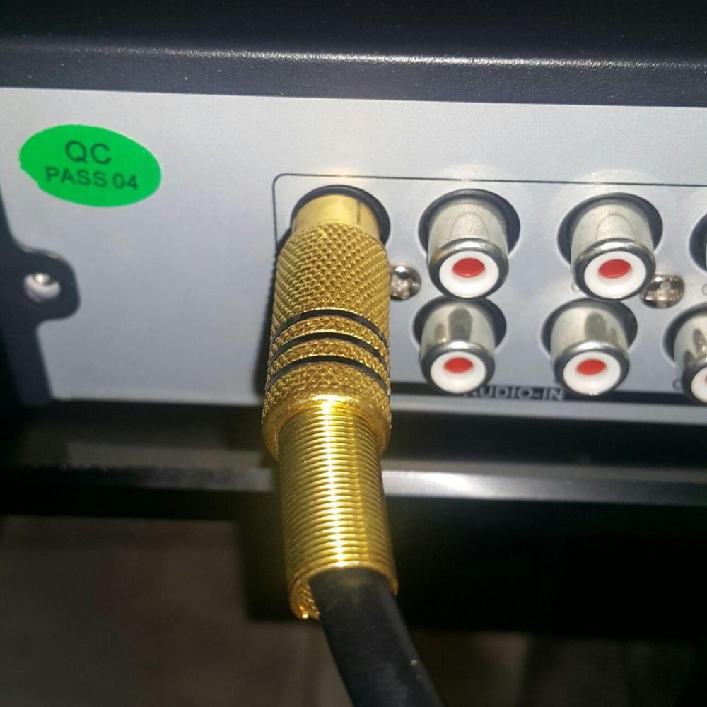 نصب میکروفون در نصب دوربین مدار بسته 4